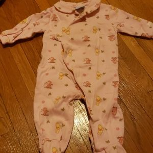Disney store pooh bear sleeper, for babies
